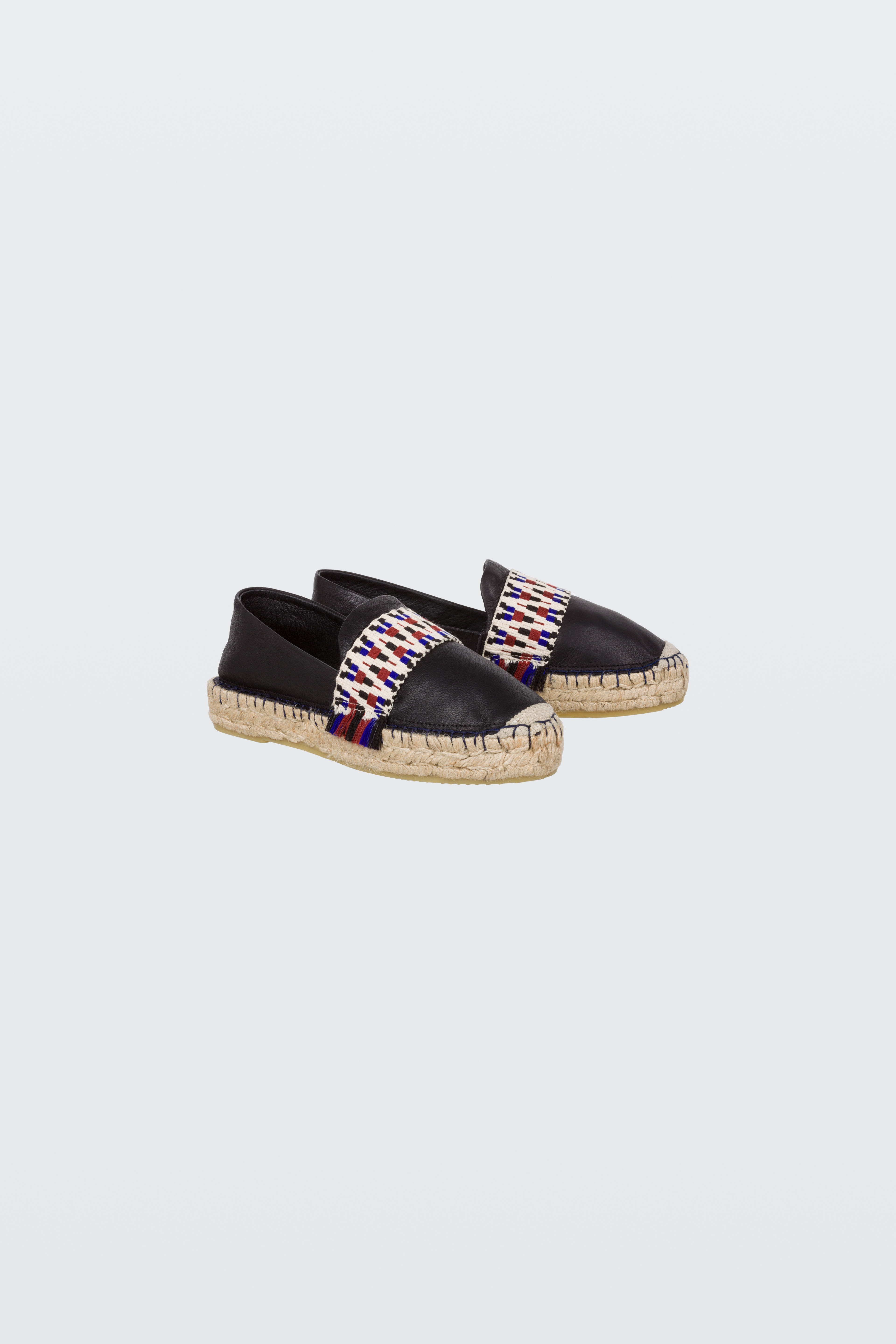 SUMMER SOFTNESS mule espadrille with woven leather 38 Dorothee Schumacher quJdh