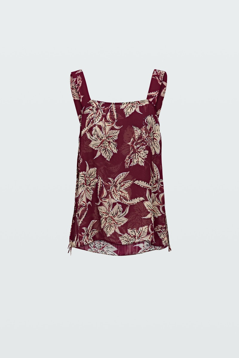 Dorothee Schumacher Tops TRANSLUCENT FLORALS TOP