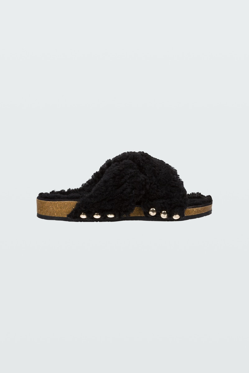 Dorothee Schumacher WILD TOUCH SHEARLING FOOTBED