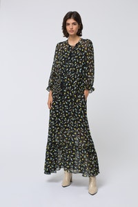 54cf3e2bb223 PURE SILK PRINTED MAXI DRESS