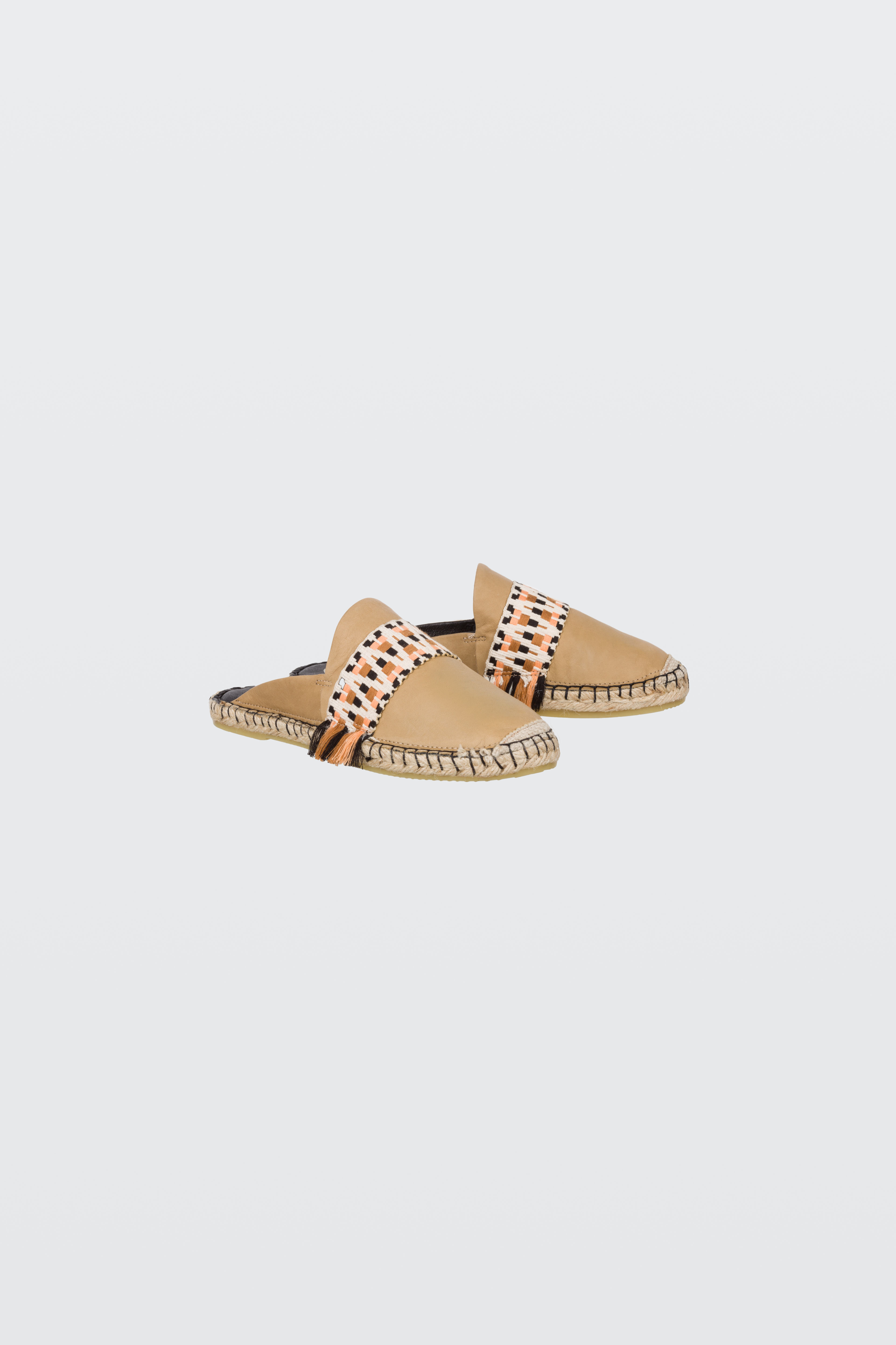 SUMMER SOFTNESS mule espadrille with woven leather 38 Dorothee Schumacher iZHGcL