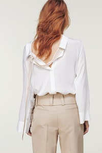 a2af468f9811e4 SILK BLOUSE WITH BACK DETAIL